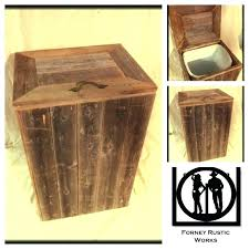 Attractive Wood Kitchen Trash Containers Wood Trash Bin For Kitchen Tilt Out Trash Bin  Kitchen Bins Inside .