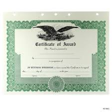 Printable Achievement Certificates Blank Award And Achievement Certificates And Certificates Of