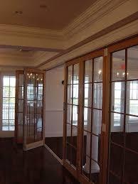 folding interior glass door walls residential interior door s