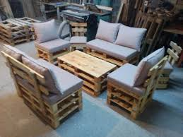 ... diy pallet sating set