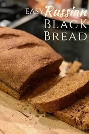 Russian Black Bread Recipe Breads Rye Bread Recipes Bread