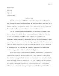 reflective essay about high school experience reflective essay jessica salazar hendersons senior portfolio reflective essay high school