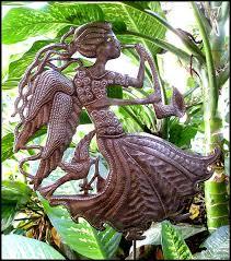 angel garden. Metal Angel Garden Plant Stick, Sticks - Recycled Steel Drum 10 1. View Images E