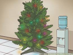 how to decorate your office. Image Titled Decorate Your Office For Christmas Step 1 How To