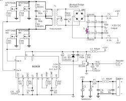 circuit zone com electronic projects electronic schematics diy 12v to 30v dc to dc converter