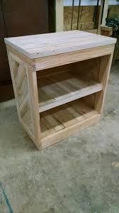 Diy Nightstand Diy Pallet Nightstand Or Side Table Nightstands And Pallets