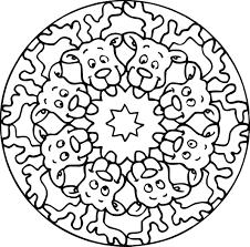 Coloriage De Mandala De Chien Lovely Coloriage Mandala Chien Imprimer Sur Coloriages Fo Of Coloriage De Mandala De Chien Jpg