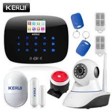 Buy <b>2017</b> Kerui <b>W18</b> Wireless <b>Wifi Gsm</b> Iosandroid App Control Lcd ...