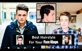 Find My Hairstyle choosing the best hairstyle for your face shape mens hair youtube 3586 by stevesalt.us