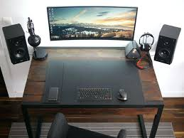 gaming desk accessories best desk setup ideas on office desk accessories within best computer desk setup gaming desk accessories