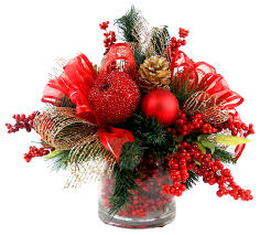 Shining Design Christmas Floral Decorations Flower Decoration Crafts  Homemade Making