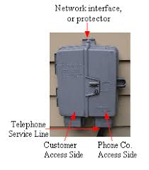 telelphone wiring problems and troubleshooting for the homeowner telephone network interface