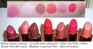 Revlon Lipstick Shades Chart All Shades Of Red Jamesdelles Com
