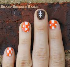 Tennessee Football Nail Designs Sharp Dressed Nails October 2014