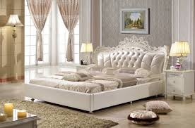 bedroom furniture china. Bedroom Furniture King Size Synthetic Leather Bed Made In ChinaPRF2802 China S