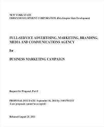 Advertising Agency Proposal Letter Campaign Example Helenamontana Info