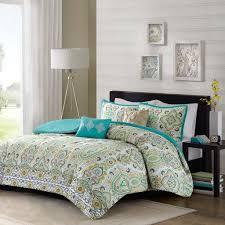 intelligent design tasia all seasons comforter set 5 piece purple quilted