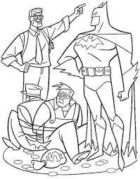 Batman Heeft Twee Dieven Gevangen Kleurplaat Gratis Kleurplaten