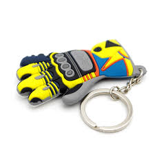 Moto Keychain Glove <b>Logo Motorcycle Accessory</b> Key Ring Voiture ...