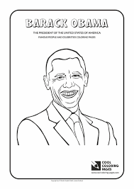 Barack Free Coloring Pages President Obama Page L Book