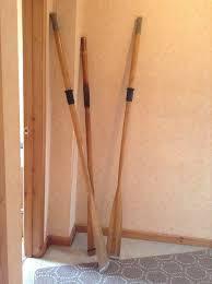 wooden oars for