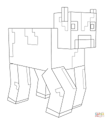 Small Picture Minecraft Cow coloring page Free Printable Coloring Pages