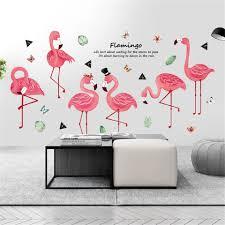Gentleman Flamingo Wall Sticker Animal ...