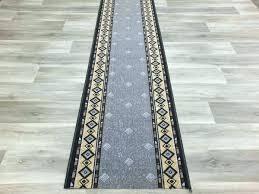 non slip runner rubber back runners non slip runner wide x cut to order for carpet