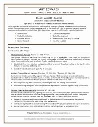 20 Bank Manager Resume