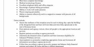 Medical Administrative Assistant Resume Sample Medical Receptionist