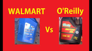 Best Price Motor Oil Comparison Walmart Vs Oreillys Automotive Video
