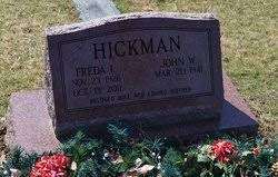 Freda Irene Howell Hickman (1926-2011) - Find A Grave Memorial