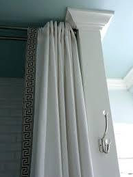 curtain rail ceiling shower curtains circular shower curtain rail inspirations oval oval ceiling mounted shower curtain