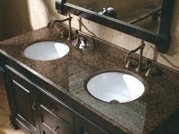 bathroom ideas with black granite countertops