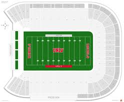 Sam Boyd Stadium Virtual Seating Chart Sam Boyd Stadium Unlv Seating Guide Rateyourseats Com