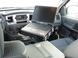 Car Desks Prodesks Extreme No Drill Computer Stand For Trucks