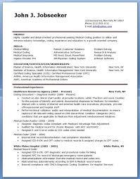 Medical Coding Resume Samples Lovely Medical Billing And Coding