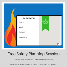 Free Safety Planning Session By Phone Or Video Meeting.