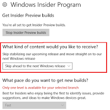 What Kind Of Windows Do I Have Windows 10 Fast Ring Insiders Can Skip Ahead To The Next Big Update