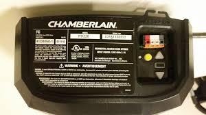 chamberlain 1 2 hp garage door openerChamberlain 12 Hp Chain Drive Garage Door Opener  Motor Unit