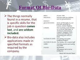 Bio Data Latest Format Samples Of Bio Data Example Personal Biodata Format For