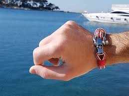p bracelets for men nautical jewellery made