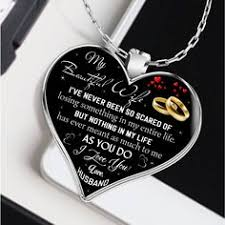 to my wife gift for 2018 gift ideas for wife beautiful wife necklace wife necklace to my wife necklace best gifts for wife