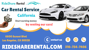 Car Rental Companies In California