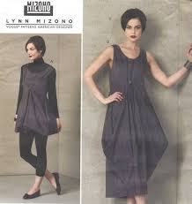 Lagenlook Sewing Patterns Adorable Lynn Mizono Womens Drawstring Cinch Dress Lagenlook Dress Or Etsy