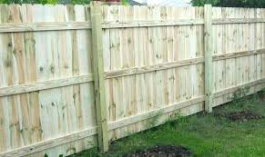 fence post installation without concrete installing wood fence posts install the fence rails and pickets by