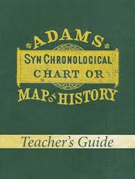 Sebastian C Adams Chronological Chart Adams Chart Of History Teachers Guide