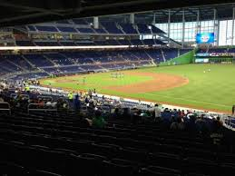 Marlins Park Section 5 Home Of Miami Marlins