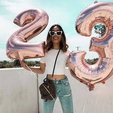 Online Shop <b>40inch Rose Gold</b> Number foil Balloon birthday 0 1 2 3 ...