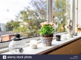 Modernes Haus Wohnzimmer Küche Fensterdekorationen Einrichtung Mit